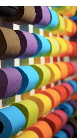 Wc Papier Zwart.Gekleurd Toiletpapier Renova Color Line Passion Papier Import