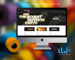 Passion website online