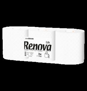 RENOVA Bedrijfssanitair Handdoek pull 220mm 2laags 3x180mtr 200050449