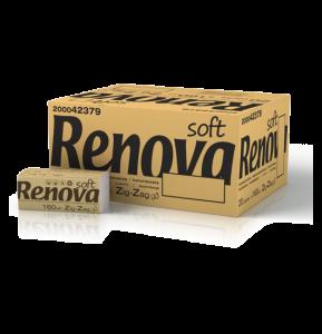 RENOVA Handdoek zig-zag soft 200042379