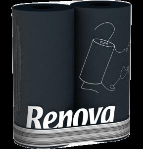 Keukenrol zwart RENOVA 200043384
