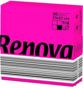 RENOVA Servet fuchsia 23x23 200060580