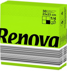 RENOVA-Servet-groen-23x23-200043307