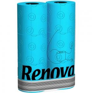 Blauw toiletpapier RENOVA 200045683