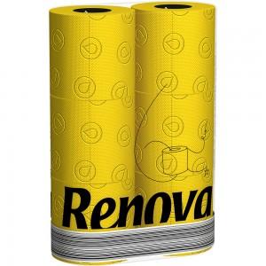 Geel toiletpapier RENOVA 200054573