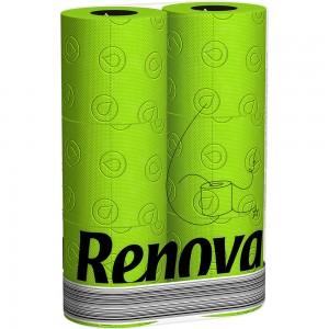 Groen toiletpapier RENOVA 200043001