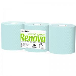 RENOVA GREEN Handdoek pull blue 2laags 3x180mtr 200043290