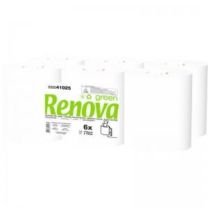 RENOVA GREEN Handdoek pull 2laags 6x130mtr 200041025