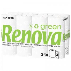 RENOVA GREEN Ecologisch toiletpapier 2laags 24x40mtr 200044976