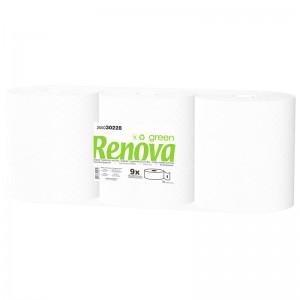 RENOVA GREEN Toiletrol jumbo 1laags 350mtr 9rollen 200030228