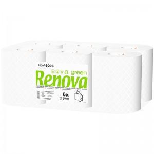 RENOVA GREEN Handdoek pull 2laags 6x115mtr 200045096