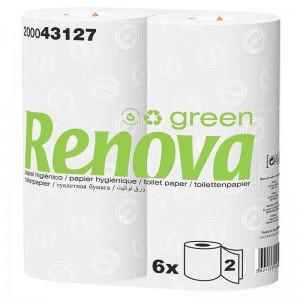 RENOVA GREEN Ecologisch toiletpapier 2laags 6x37,5mtr 200043127