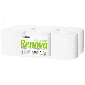 RENOVA GREEN Toiletrol jumbo 1laags 197mtr 12rollen 200000161