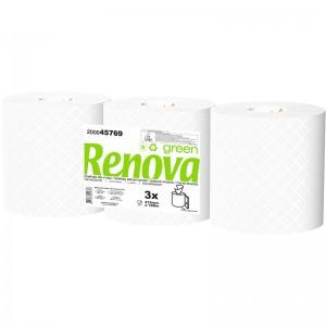 RENOVA GREEN Handdoek pull 2laags 3x180mtr 200045769