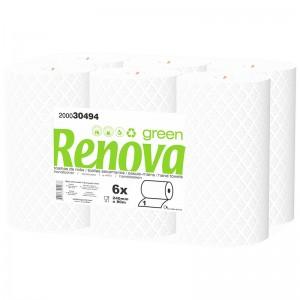 RENOVA-GREEN-Handdoek-rol-2laags-80mtr-6rollen-200030494
